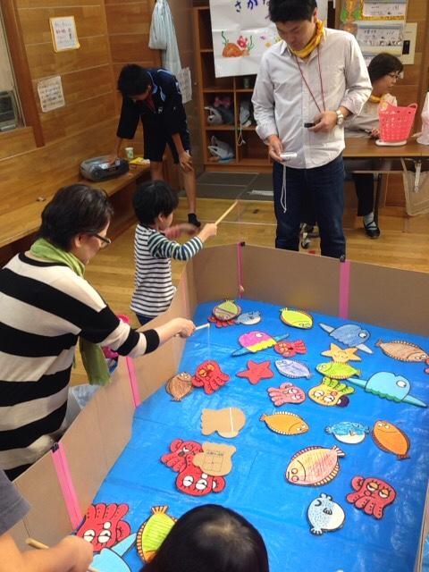 2014年10月18日(土)宮の台児童館にて子ども祭りのお手伝い
