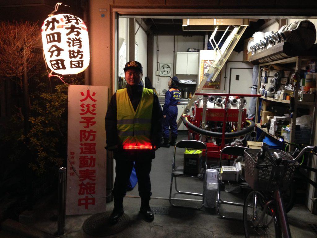 2015年3月6日(金)消防団春の火災予防に参加