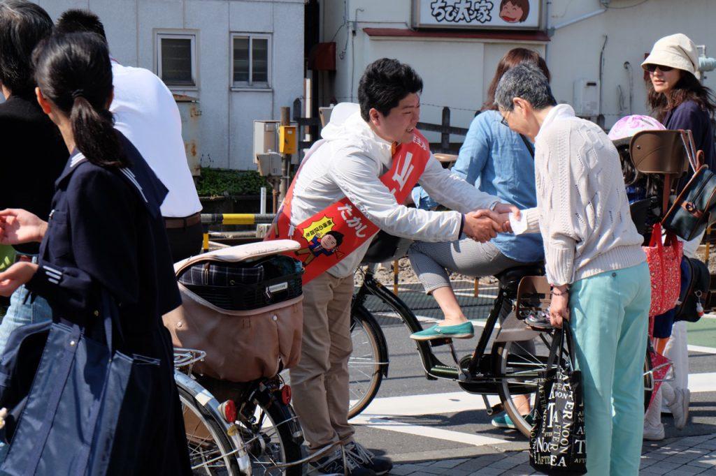 2015年4月23日(木)選挙戦5日目